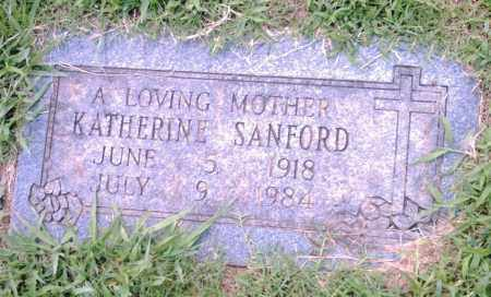 SANFORD, KATHERINE - Pulaski County, Arkansas | KATHERINE SANFORD - Arkansas Gravestone Photos