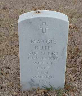 SANFORD, MARGIE RUTH - Pulaski County, Arkansas | MARGIE RUTH SANFORD - Arkansas Gravestone Photos