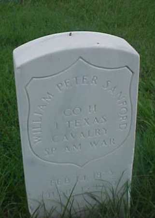 SANFORD (VETERAN SAW), WILLIAM PETER - Pulaski County, Arkansas | WILLIAM PETER SANFORD (VETERAN SAW) - Arkansas Gravestone Photos