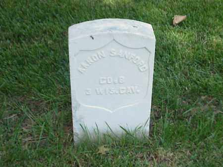 SANFORD (VETERAN UNION), AARON - Pulaski County, Arkansas | AARON SANFORD (VETERAN UNION) - Arkansas Gravestone Photos