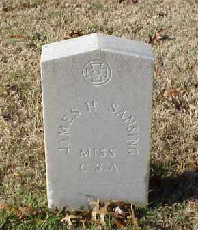 SANSING (VETERAN CSA), JAMES H - Pulaski County, Arkansas | JAMES H SANSING (VETERAN CSA) - Arkansas Gravestone Photos