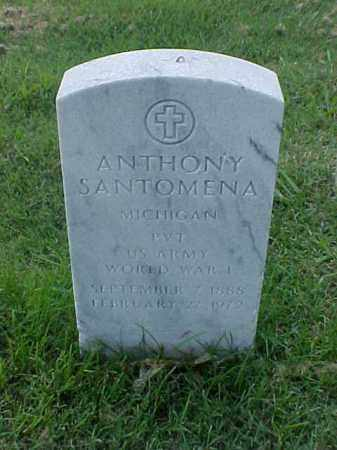 SANTOMENA (VETERAN WWI), ANTHONY - Pulaski County, Arkansas | ANTHONY SANTOMENA (VETERAN WWI) - Arkansas Gravestone Photos