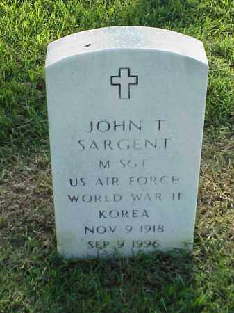 SARGENT (VETERAN 2 WARS), JOHN T - Pulaski County, Arkansas | JOHN T SARGENT (VETERAN 2 WARS) - Arkansas Gravestone Photos