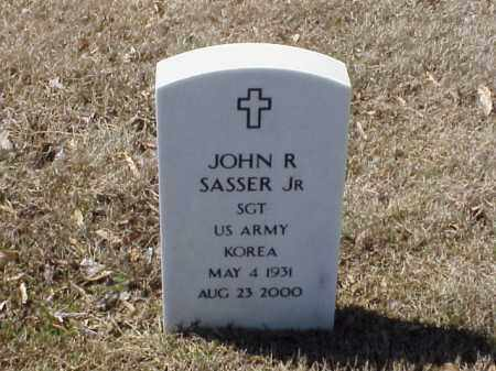 SASSER, JR  (VETERAN KOR), JOHN R - Pulaski County, Arkansas | JOHN R SASSER, JR  (VETERAN KOR) - Arkansas Gravestone Photos