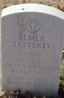 SATERLY  (VETERAN WWI), ELMER - Pulaski County, Arkansas | ELMER SATERLY  (VETERAN WWI) - Arkansas Gravestone Photos