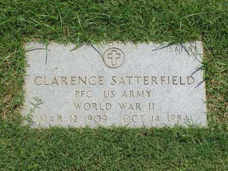SATTERFIELD (VETERAN WWII), CLARENCE - Pulaski County, Arkansas | CLARENCE SATTERFIELD (VETERAN WWII) - Arkansas Gravestone Photos