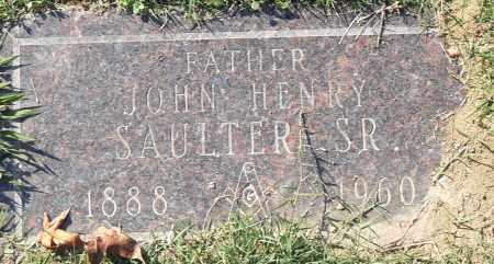 SAULTER SR, JOHN HENRY - Pulaski County, Arkansas | JOHN HENRY SAULTER SR - Arkansas Gravestone Photos