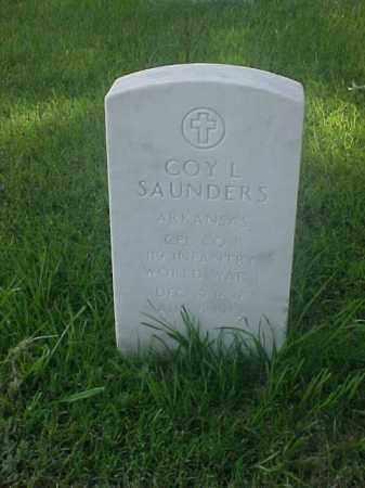 SAUNDERS (VETERAN), COY L - Pulaski County, Arkansas | COY L SAUNDERS (VETERAN) - Arkansas Gravestone Photos