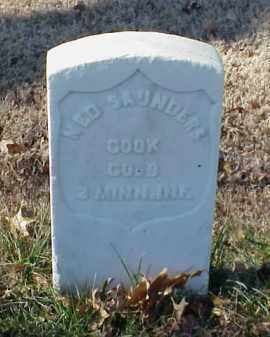 SAUNDERS (VETERAN UNION), NED - Pulaski County, Arkansas | NED SAUNDERS (VETERAN UNION) - Arkansas Gravestone Photos
