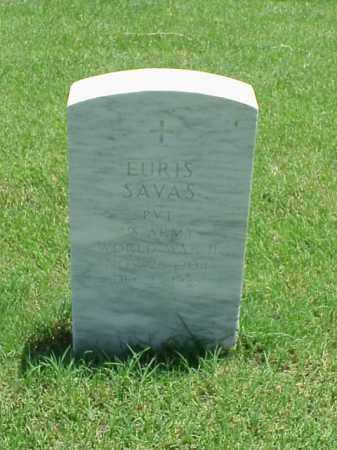 SAVAS (VETERAN WWII), EURIS - Pulaski County, Arkansas | EURIS SAVAS (VETERAN WWII) - Arkansas Gravestone Photos