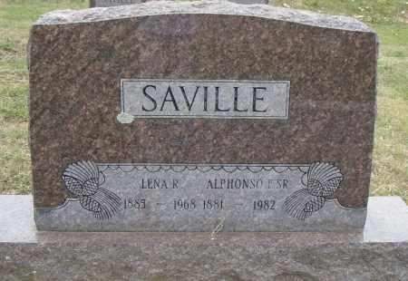 SAVILLE, LENA R. - Pulaski County, Arkansas | LENA R. SAVILLE - Arkansas Gravestone Photos