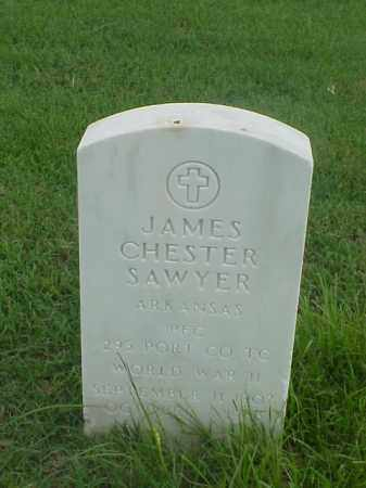 SAWYER (VETERAN WWII), JAMES CHESTER - Pulaski County, Arkansas | JAMES CHESTER SAWYER (VETERAN WWII) - Arkansas Gravestone Photos