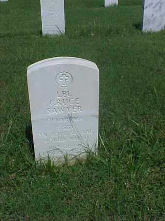 SAWYER (VETERAN WWII), LEE CRUCE - Pulaski County, Arkansas | LEE CRUCE SAWYER (VETERAN WWII) - Arkansas Gravestone Photos