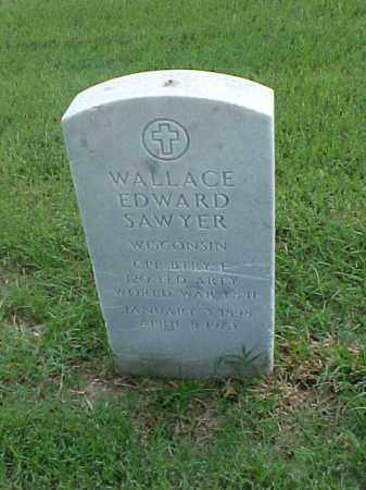 SAWYER (VETERAN 2 WARS), WALLACE EDWARD - Pulaski County, Arkansas | WALLACE EDWARD SAWYER (VETERAN 2 WARS) - Arkansas Gravestone Photos