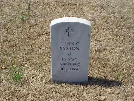 SAXTON (VETERAN), JOHN CHESTER - Pulaski County, Arkansas | JOHN CHESTER SAXTON (VETERAN) - Arkansas Gravestone Photos