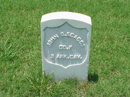 SCAGGS (VETERAN UNION), JOHN D - Pulaski County, Arkansas | JOHN D SCAGGS (VETERAN UNION) - Arkansas Gravestone Photos