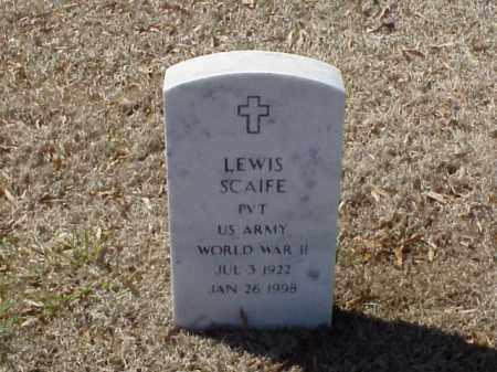 SCAIFE  (VETERAN WWII), LEWIS - Pulaski County, Arkansas | LEWIS SCAIFE  (VETERAN WWII) - Arkansas Gravestone Photos