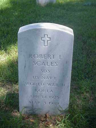 SCALES (VETERAN 2 WARS), ROBERT L - Pulaski County, Arkansas | ROBERT L SCALES (VETERAN 2 WARS) - Arkansas Gravestone Photos