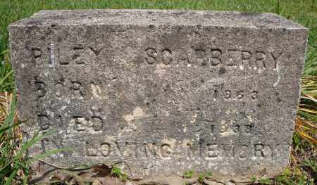 SCARBERRY, RILEY - Pulaski County, Arkansas | RILEY SCARBERRY - Arkansas Gravestone Photos