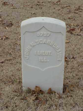 SCARBORAUGH (VETERAN UNION), JOHN N - Pulaski County, Arkansas | JOHN N SCARBORAUGH (VETERAN UNION) - Arkansas Gravestone Photos