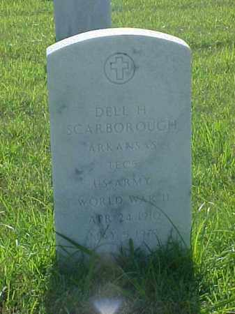 SCARBOROUGH (VETERAN WWII), DELL H - Pulaski County, Arkansas | DELL H SCARBOROUGH (VETERAN WWII) - Arkansas Gravestone Photos