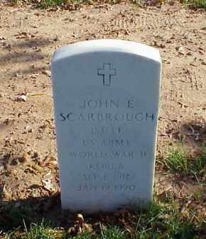 SCARBROUGH (VETERAN 2 WARS), JOHN E - Pulaski County, Arkansas | JOHN E SCARBROUGH (VETERAN 2 WARS) - Arkansas Gravestone Photos