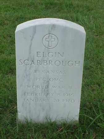 SCARBROUGH (VETERAN WWII), ELGIN - Pulaski County, Arkansas | ELGIN SCARBROUGH (VETERAN WWII) - Arkansas Gravestone Photos
