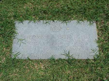 SCHAEFFER (VETERAN 3 WARS), THEODORE - Pulaski County, Arkansas | THEODORE SCHAEFFER (VETERAN 3 WARS) - Arkansas Gravestone Photos