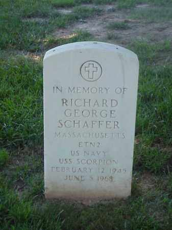 SCHAFFER (VETERAN VIET), RICHARD GEORGE - Pulaski County, Arkansas | RICHARD GEORGE SCHAFFER (VETERAN VIET) - Arkansas Gravestone Photos