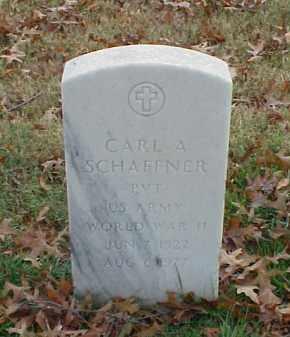 SCHAFFNER (VETERAN WWII), CARL A - Pulaski County, Arkansas | CARL A SCHAFFNER (VETERAN WWII) - Arkansas Gravestone Photos