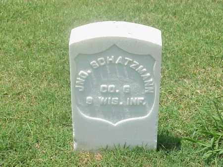 SCHATZMANN (VETERAN UNION), JOHN - Pulaski County, Arkansas | JOHN SCHATZMANN (VETERAN UNION) - Arkansas Gravestone Photos