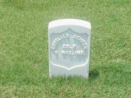SCHECK (VETERAN UNION), GOTTLIEB - Pulaski County, Arkansas | GOTTLIEB SCHECK (VETERAN UNION) - Arkansas Gravestone Photos