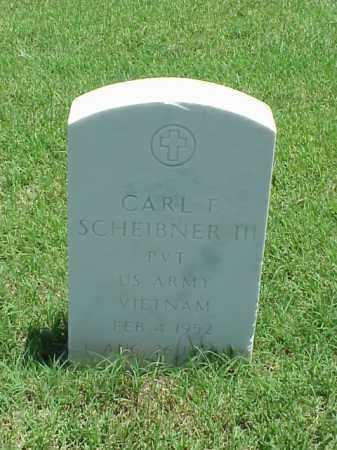 SCHEIBNER, III (VETERAN VIET), CARL F - Pulaski County, Arkansas | CARL F SCHEIBNER, III (VETERAN VIET) - Arkansas Gravestone Photos