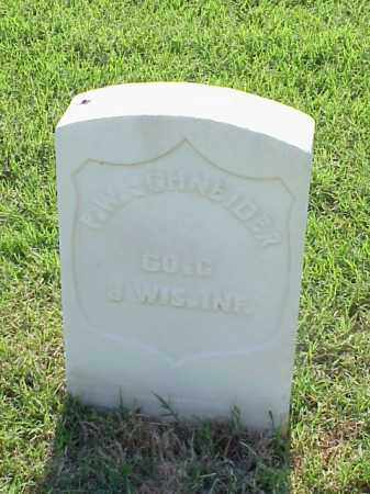 SCHNEIDER (VETERAN UNION), P W - Pulaski County, Arkansas | P W SCHNEIDER (VETERAN UNION) - Arkansas Gravestone Photos