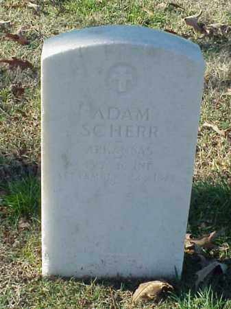 SCHERR (VETERAN UNION), ADAM - Pulaski County, Arkansas | ADAM SCHERR (VETERAN UNION) - Arkansas Gravestone Photos
