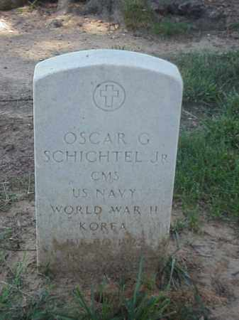 SCHICHTEL, JR (VETERAN 2 WARS), OSCAR G - Pulaski County, Arkansas | OSCAR G SCHICHTEL, JR (VETERAN 2 WARS) - Arkansas Gravestone Photos