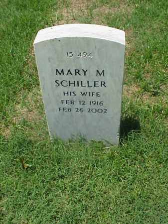 SCHILLER, MARY M - Pulaski County, Arkansas | MARY M SCHILLER - Arkansas Gravestone Photos
