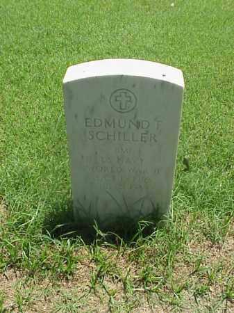 SCHILLER (VETERAN WWII), EDMUND F - Pulaski County, Arkansas | EDMUND F SCHILLER (VETERAN WWII) - Arkansas Gravestone Photos
