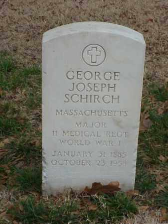 SCHIRCH (VETERAN WWI), GEORGE JOSEPH - Pulaski County, Arkansas | GEORGE JOSEPH SCHIRCH (VETERAN WWI) - Arkansas Gravestone Photos