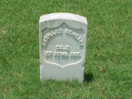 SCHLAKE (VETERAN UNION), GERHARD - Pulaski County, Arkansas | GERHARD SCHLAKE (VETERAN UNION) - Arkansas Gravestone Photos