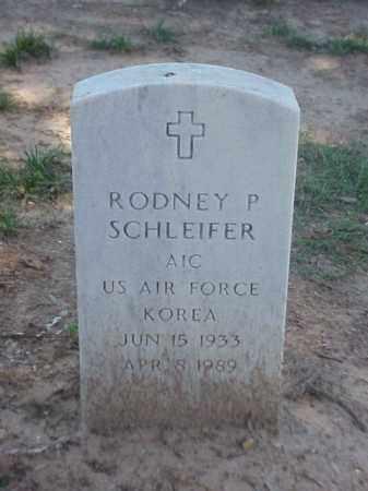 SCHLEIFER (VETERAN KOR), RODNEY P - Pulaski County, Arkansas | RODNEY P SCHLEIFER (VETERAN KOR) - Arkansas Gravestone Photos