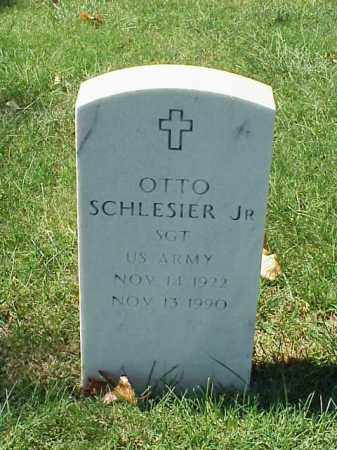 SCHLESIER, JR (VETERAN), OTTO - Pulaski County, Arkansas | OTTO SCHLESIER, JR (VETERAN) - Arkansas Gravestone Photos