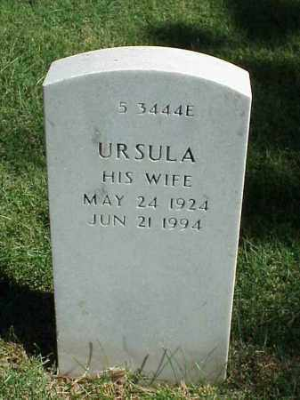 SCHLESIER, URSULA - Pulaski County, Arkansas | URSULA SCHLESIER - Arkansas Gravestone Photos