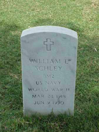 SCHLEY (VETERAN WWII), WILLIAM L - Pulaski County, Arkansas | WILLIAM L SCHLEY (VETERAN WWII) - Arkansas Gravestone Photos