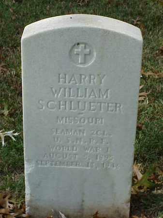 SCHLUETER (VETERAN WWI), HARRY WILLIAM - Pulaski County, Arkansas | HARRY WILLIAM SCHLUETER (VETERAN WWI) - Arkansas Gravestone Photos