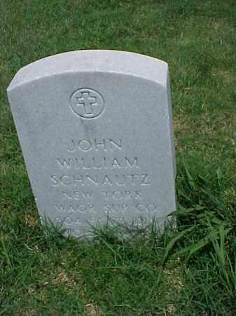 SCHNAUTZ (VETERAN WWI), JOHN WILLIAM - Pulaski County, Arkansas | JOHN WILLIAM SCHNAUTZ (VETERAN WWI) - Arkansas Gravestone Photos