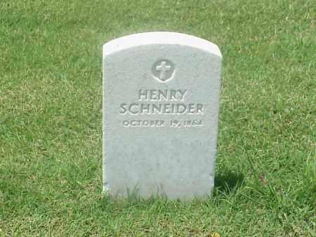 SCHNEIDER, HENRY - Pulaski County, Arkansas | HENRY SCHNEIDER - Arkansas Gravestone Photos