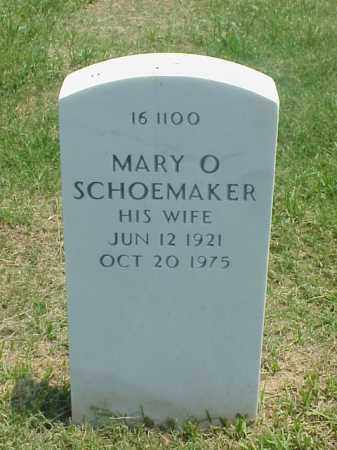 SCHOEMAKER, MARY O - Pulaski County, Arkansas | MARY O SCHOEMAKER - Arkansas Gravestone Photos