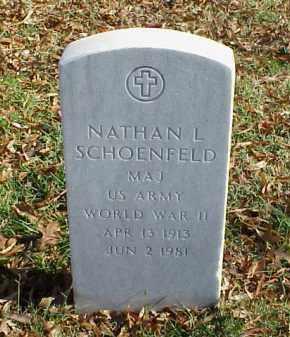 SCHOENFELD (VETERAN WWII), NATHAN L - Pulaski County, Arkansas | NATHAN L SCHOENFELD (VETERAN WWII) - Arkansas Gravestone Photos