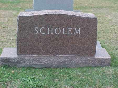 SCHOLEM FAMILY STONE,  - Pulaski County, Arkansas |  SCHOLEM FAMILY STONE - Arkansas Gravestone Photos